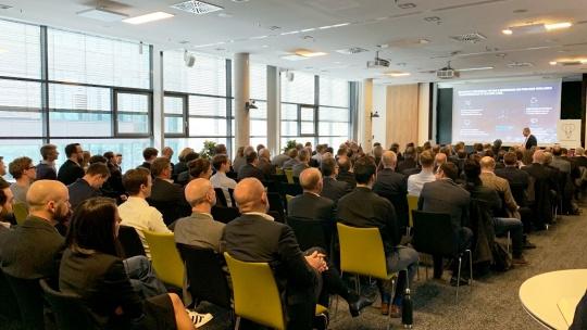 Vortrag von Klaus Straub, CIO von BMW, zum Thema