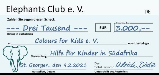 Donation Cheque